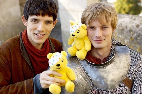Bradley James couple